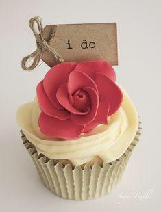 Red Rose Cupcake perfect!