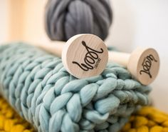 Knitting, Crochet, Weaving and Macrame Craft Kits by Wool Couture Giant Knitting, Loom Weaving, Woodturning, Knitted Blankets, Yarn Needle, Knitting Needles, Diy Kits, Hygge, Cross Stitching
