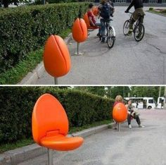 Examples Of Urban Design Which Ought To Be In Every City Smart! A Tulip Seat for Public Spaces (Holland) MoreSmart! A Tulip Seat for Public Spaces (Holland) . Architecture Design, Landscape Architecture, Landscape Design, Urban Furniture, Street Furniture, Furniture Design, Chair Design, Patio Design, Tulip Chair