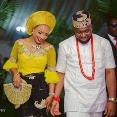 So when Nkechi and Ogedi went the traditional way of tying the knot, you can just imagine just how it turned out. It sure was a fun-filled event with the ne
