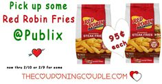 Red Robin Fries Only $0.95 each @ Publix thru 2/10. Clip your coupons and head over to Publix to pick up your cheap Red Robin Fries. Great with burgers! ***  Click the link below to get all of the details ► http://www.thecouponingcouple.com/red-robin-fries-only-0-95-each-publix-thru-210/ #Coupons #Couponing #CouponCommunity  Visit us at http://www.thecouponingcouple.com for more great posts!