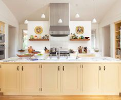 Add a colorful hue to your kitchen island with these color palette ideas. We included ideas for blues, yellows, grays, greens, reds, oranges, neutrals, and more—whether your decorating style is traditional, rustic, modern, or somewhere in between.