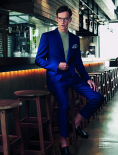 Leo Bruno & James Cater Refine their Style for August Man