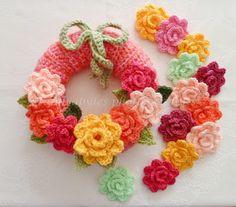 Apple Blossom Dreams: Wreath via Precious Sandra