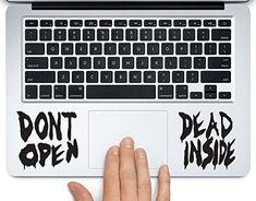 Neegan Walking Dead Lucille Vinyl Decal Sticker for Apple MacBook Pro Air Mac 13