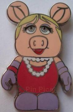 Vinylmation Collectors Set - Muppets Miss Piggy Disney Pins For Sale, Miss Piggy, Classic Cartoons, Puppets, Tigger, Walt Disney, Disney Characters, Fun, Doll