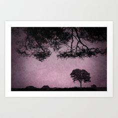 Landscape Art Print by Anne Staub - $19.76