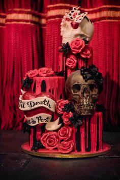 Oh my, this cake by Choccywoccydoodah is good