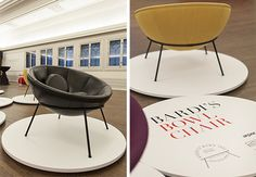 #Arper presents the Bardi's Bowl Chair for the first time in USA at Graham Foundation, Chicago
