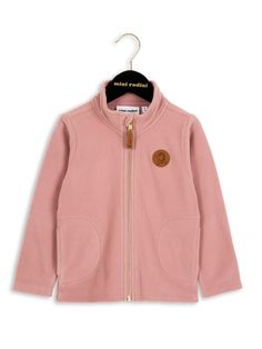 Mini Rodini – Fleece Jacket, pink