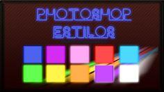 Estilos Neon para Photoshop | Bait69blogspot