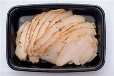 Roast Breast of Turkey with Garlic, Rosemary, Olive Oil, Sea Salt, and Black Pepper- healthy, gluten free, clean eats, crossfit, paleo, meal prep!