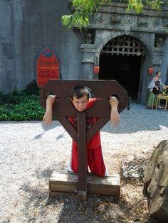 My son Kris(10) at the Pennsylvania Renaissance Faire(9-1-2013)