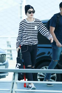 Airport fashion- J-hope