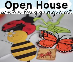 Open House Bugs Unit and a Freebie