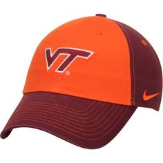 Order a Women s Nike Maroon Orange Virginia Tech Hokies Logo Adjustable Hat  from the Official Virginia Tech Store and get flat rate shipping on every  order. 30e2eac6bf4c