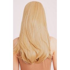 Golden Blonde Reversible Half Head Wig (30 PLN) ❤ liked on Polyvore featuring beauty products, haircare, hair styling tools, hair and golden blonde