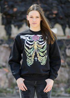 KOLYA KOTOV Printed Sweatshirt via KOLYA KOTOV.