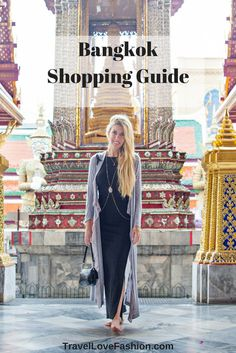 Heading to Thailand's shopping centre capital soon? Then of course you … Heading to Thailand's shopping centre capital soon? Then of course you want to know where to shop! Here is your must read guide for Bangkok shopping. Thailand Shopping, Thailand Vacation, Thailand Travel Guide, Bangkok Travel, Asia Travel, Vacation Trips, Vacations, Bangkok Trip, Croatia Travel