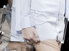 lucite clutch: style before function