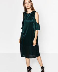 c522e57fa85af Image 2 of OFF-THE-SHOULDER DRESS from Zara New Look Fashion