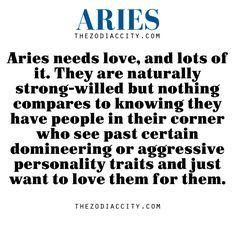Aries guys personality