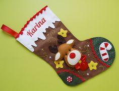 Felt Christmas, Christmas Time, Christmas Stockings, Christmas Crafts, Christmas Decorations, Xmas, Christmas Ornaments, Holiday Decor, Felt Banner