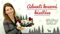 🕯️ Adventi koszorú készítése 🕯️   Karácsonyi ötlet   Manó kuckó Advent, Christmas, Youtube, Decorations, Food, Creative, Xmas, Dekoration, Eten
