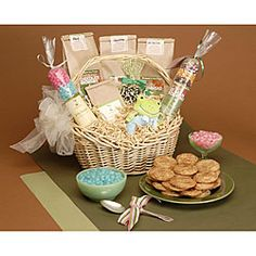 @Overstock - Welcome home the new addition to the family with a best-selling gift just for the occasionHandmade gift basket is full of easy-to-make products carefully arrangedNew baby food basket contains an assortment of goodieshttp://www.overstock.com/Worldstock-Fair-Trade/New-Baby-Gourmet-Gift-Basket/3926600/product.html?CID=214117 $34.64