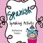 This speaking activities helps students practice asking and answering questions using reflexive verbs. Students work in pairs and use picture cues ...