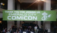 Relive our experience at the 2016 Emerald City Comicon! Check out the Storify compilation.