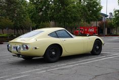 1967 Toyota 2000GT Yellow