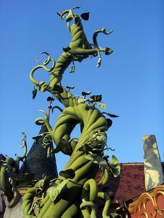 Jack's Beanstalk (looks like from one of the Disney World's)