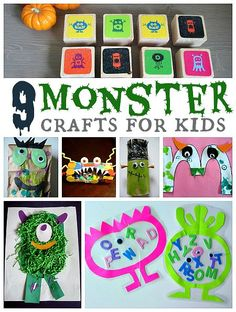 Monster Crafts & Act
