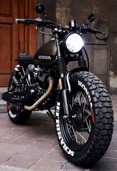 125 Honda Scrambler... Warriors may need a light bike that can go anywhere...
