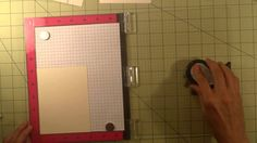 Stamping duplicate panels for the inside of a card with M.I.S.T.I. (Most Incredible Stamp Tool Invented) mysweetpetunia.com