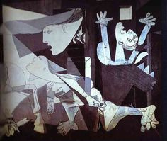Guernica. Detail. 1937. 349 cm x 776 cm (137.4 in x 305.5 in). Oil on canvas. Museo Reina Sofia, Madrid, Spain.