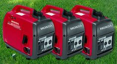 Honda Generator Rentals: These are super-quiet and a tailgating rental essential. Our thoughts are, the only thing making noise at your event should be your event, not your power supply.