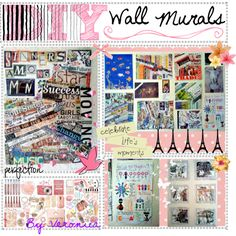"""DIY Wall Murals"" by the-tip-nerds on Polyvore"