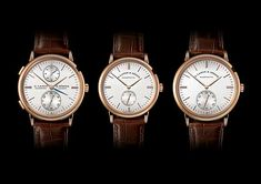 The #alangesohne Saxonia family features three new models in its elegant, understated Saxonia collection, all featuring subtly redesigned dials, with two models also sporting new case dimensions. #alangesohne #watchtime #luxurywatch