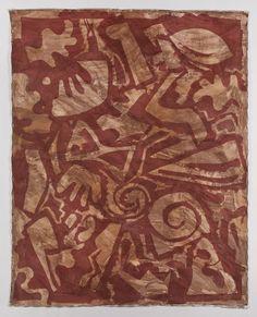 "Artist Martina Kügler Frankfurt Städelschule (1945 Schreiberhau/Schlesien, † 2017 Frankfurt, Main) Title ""Abstrakt Rot 1"" Frankfurt Main, Fine Art, Creative, Crafts, Painting, Collection, Art Club, Holy Spirit, Abstract"