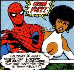 misty knight images | Spidey is curious about Misty Knight a few times in both #63 and #64 ...