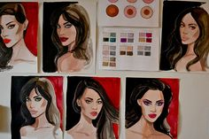 Go Behind the Scenes of Charlotte Tilbury's Collab With Illustrator Regina Yazdi | allure.com