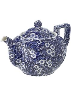 Calico Teapot, Burleigh. Shop more from the Burleigh collection at Liberty.co.uk
