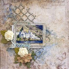 Blue Fern Studios: Tranquility inspiration by Pascale