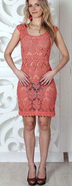 Coralls Crochet Dress