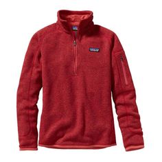 Women's Better Sweater Quarter Zip Fleece- Sumac Red from Shop Southern Roots TX