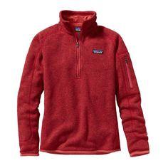 Women's Better Sweater Quarter Zip Fleece- Sumac Red from Shop Southern Roots TX