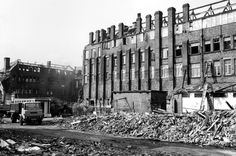 Demolition of Joseph Rogers and Sons Ltd., River Lane Works
