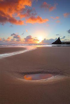 beautiful Cornish sunset!